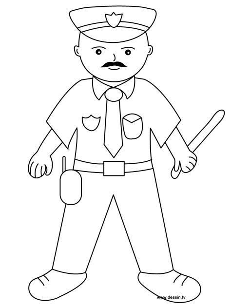 coloring pages with police coloring policeman