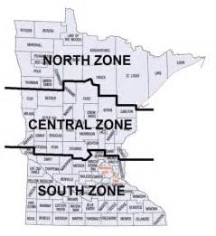 Minnesota statute establishing state plane coordinate systems