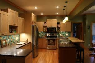 custom birds eye maple kitchen cabinets by cris bifaro