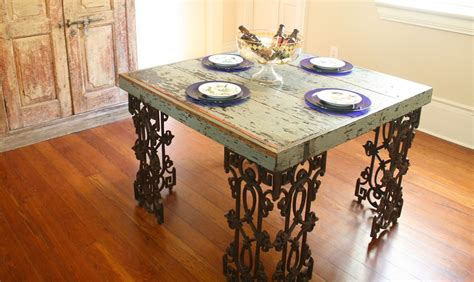 Distressed Dining Room Table by Made New Orleans Dining Room Table Made From