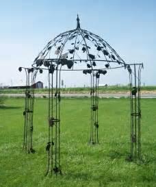 Metal Garden Gazebo Wrought Iron Garden Gazebos