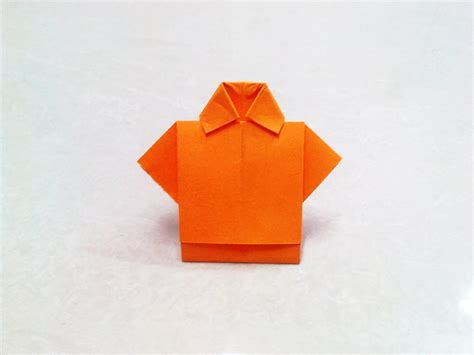 How To Make Paper Folding Crafts - origami how to make an origami paper t shirt origami