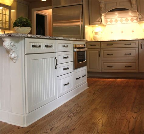 kitchen cabinet bottom molding incomparable kitchen island base molding with beaded panel