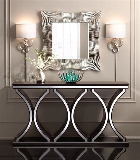 Foyer Console Table And Mirror Contemporary Foyer Table Sets Custom Set Furniture
