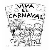 Colorear Carnaval 26  Dibujo Para