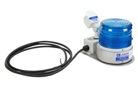 motion sensor strobe light larson electronics releases a led strobe light equipped