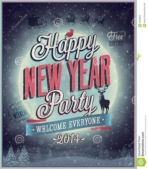 new year poster images new year poster royalty free stock photo image