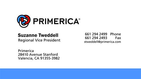 primerica business card template primerica business card template business card design