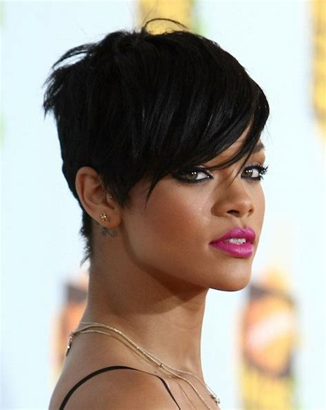 black hair edgy haircuts pixie hair cut for over 40 edgy short haircuts for women
