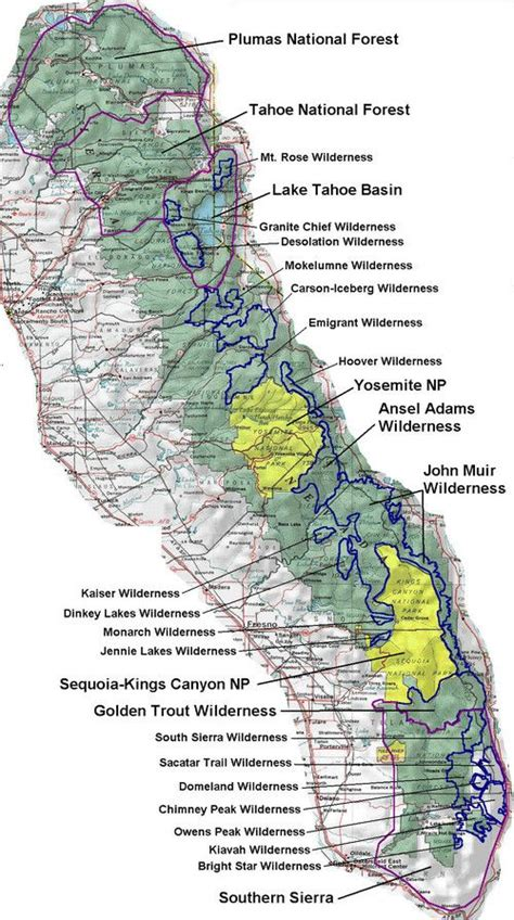 california mountain ranges map 150 best images about kern river on cas kern