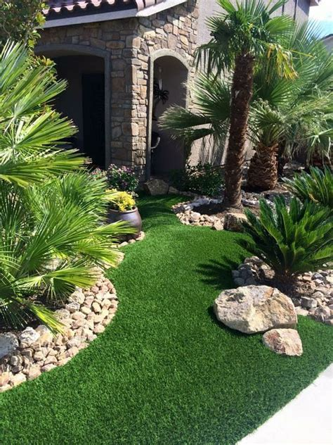 Landscape Design With Artificial Grass Artificial Grass Grasses Faux Grass And Las Vegas