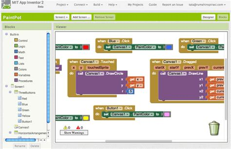 aplikasi membuat doodle tutorial membuat android dengan app inventor