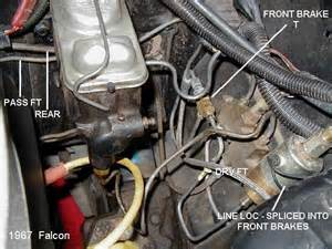 Brake Line Diagram 1967 Mustang 332 428 Ford Fe Engine Forum Line Lock Roll Question