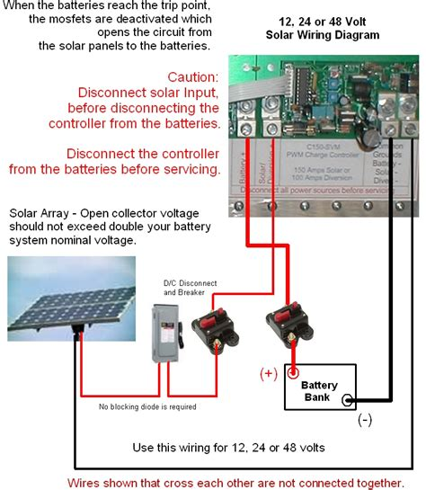 12 volt wiring diagram for solar panel system 12 volt