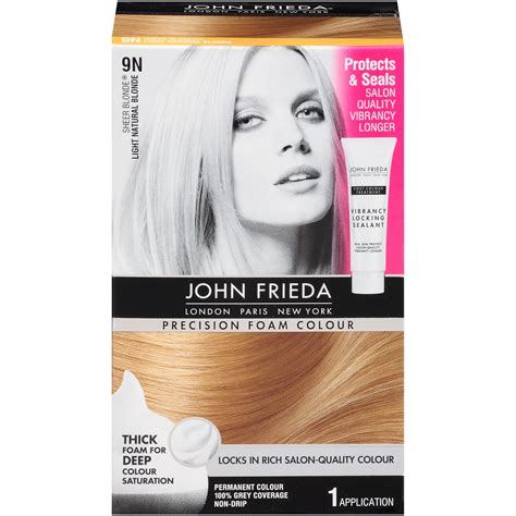 9n hair color frieda precision foam colour sheer light