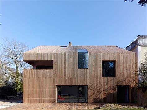fassade holz modern facade modern wooden house design exterior design jpg