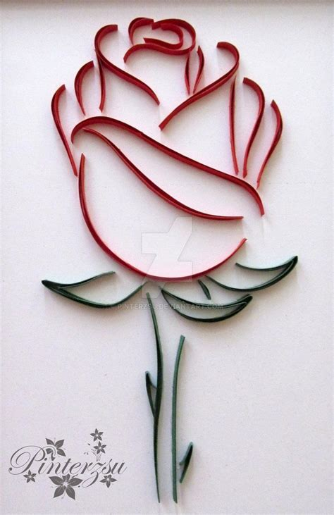 quilling paper rose tutorial best 25 quilled roses ideas on pinterest quiling paper