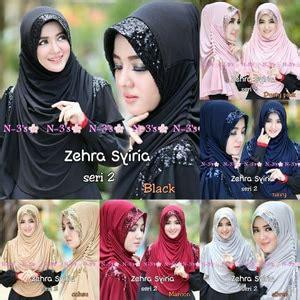 Zehra Syiria Dusty Grosir Kerudung syiria zehra seri 2 jersey jilbab instan
