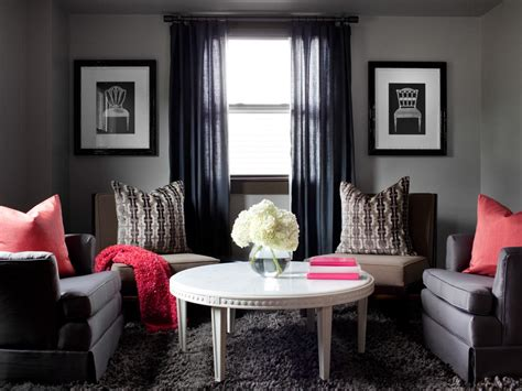 Gray Colors For Living Rooms | photos hgtv