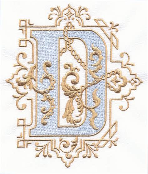 Vintage Royal Alphabet & Accent Designs (2013 Alphabets ... D Alphabet Design