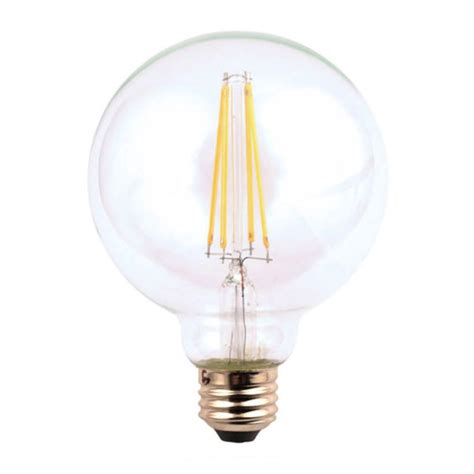 ecosmart light bulbs ecosmart 60w equivalent soft white g25 dimmable filament