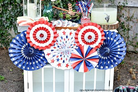 patriotic decorating ideas fourth of july party decorating ideas a pumpkin and a