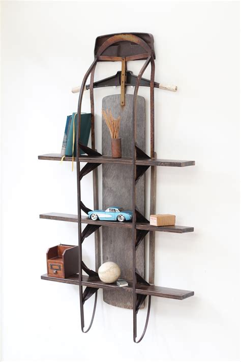 buy home decor vintage sled shelf fleapop buy and sell home decor