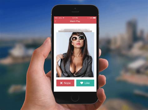 design app like tinder tinder style dating app by simona vorlova dribbble