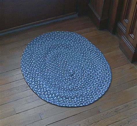 denim braided rug braided denim rugs from blue recycle ideas crafts from green frugal