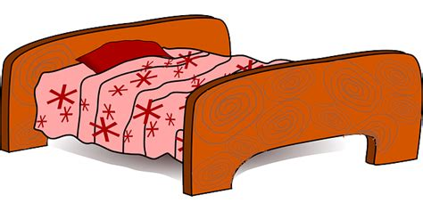 Schlafzimmer Comic by Brown Empty Bed Pink Free Make