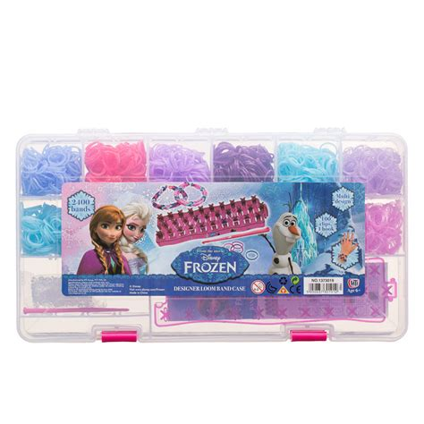 Refill Diy Rainbow Loom Bands Frozen Disney Jelly Transparan Colour 1 rainbow loom charms