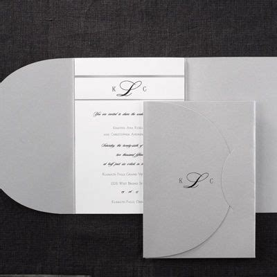 Printed Wedding Invitations Carlson by 44 Best Pocket Wedding Invitations Images On