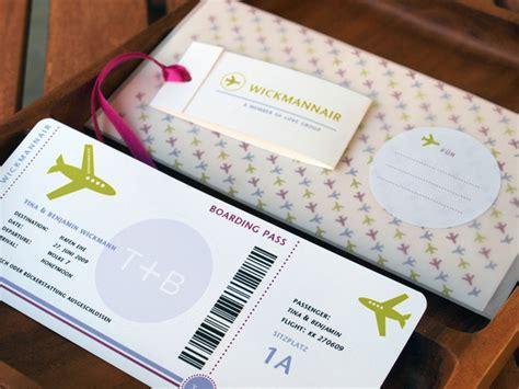 Jo In Katun Handuk hochzeitskarten geldgeschenk boarding pass zur
