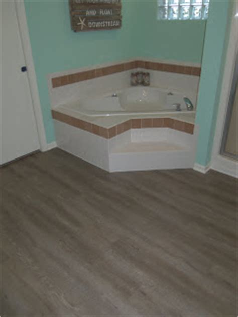 allure bathroom flooring simply cottage love installing allure ultra flooring diy