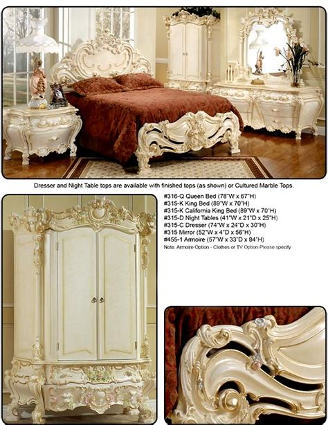baroque bedroom furniture elizabeth provincial baroque bedroom furniture