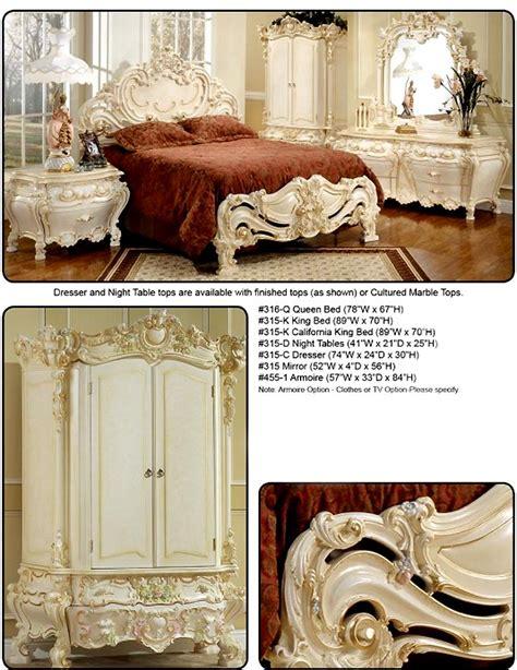 Baroque Bedroom Furniture Elizabeth Provincial Baroque Bedroom Furniture