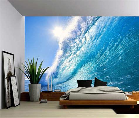 vinyl wallpaper for walls ocean wave large wall mural self adhesive vinyl wallpaper