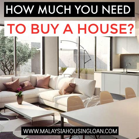i need a loan to buy a house how much you need to buy a house in malaysia for buying