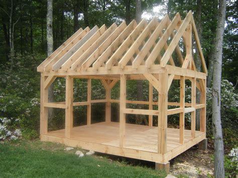 village post  beam barns  sheds diy shed plans