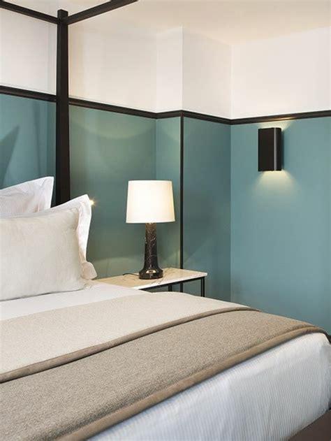 peinture pour une chambre à coucher nos astuces en photos pour peindre une pi 232 ce en deux