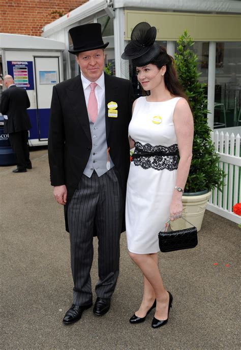 karen spencer countess spencer earl spencer photos photos arrivals at royal ascot s