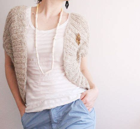 knit sweater shrug pattern free knitting pattern boleros shrugs pinterest