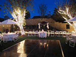 outdoor wedding lighting ideas kissy s diy confetti toss packets wedding ceremony