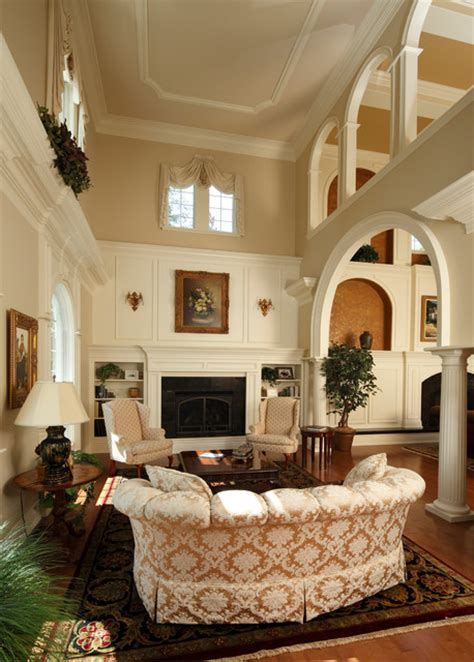 Neoclassical Living Room by Neoclassical Style Home Traditional Living Room