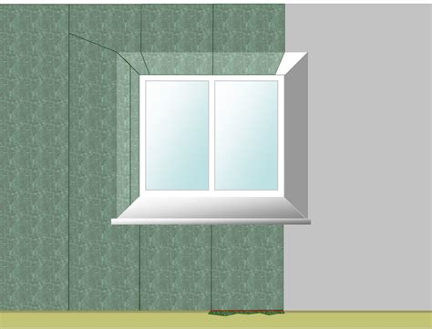 How To Wallpaper Around Windows | wallpapering around a window