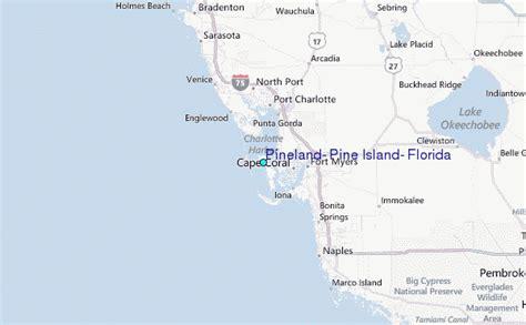 pine island florida map pineland pine island florida tide station location guide