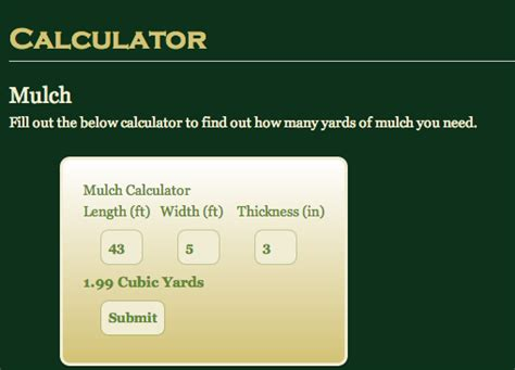 calculator using jquery jalopyhead com mulch calculator using jquery