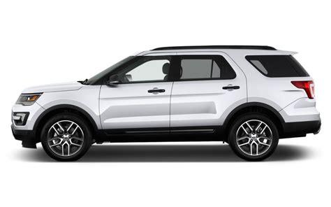 Compare Ford Explorer To Jeep Grand Comparison Ford Explorer Sport 2017 Vs Jeep Grand