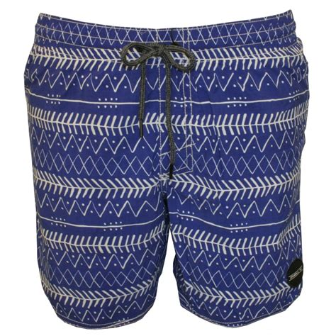 blue patterned shorts o neill pm thirst for surf patterned swim shorts blue