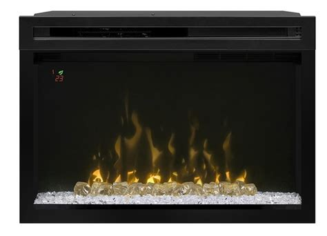 Crushed Glass For Fireplace by Dimplex Pf2325cg 25 Quot Electric Firebox Multi Xd And Crushed Glass Embers